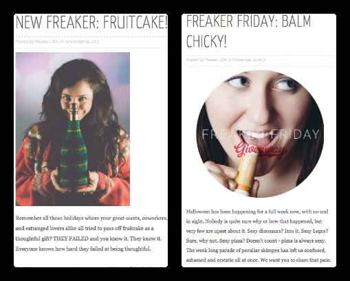 Freaker Blog Posts