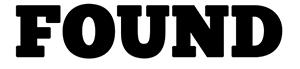FOUND Webinar