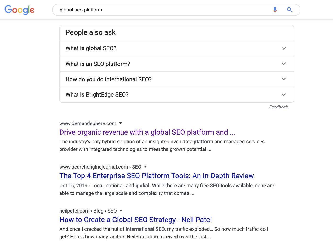 best global SEO platform