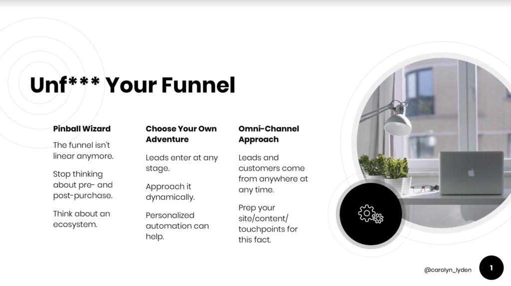 optimizing your marketing funnel