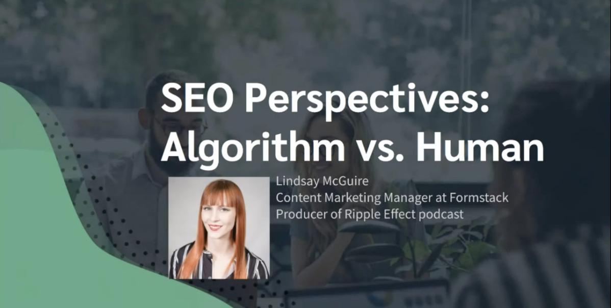 SEO Algorithm vs human